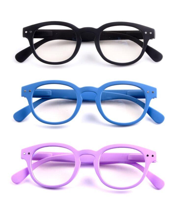occhiali protettivi per gli schermi luminosi